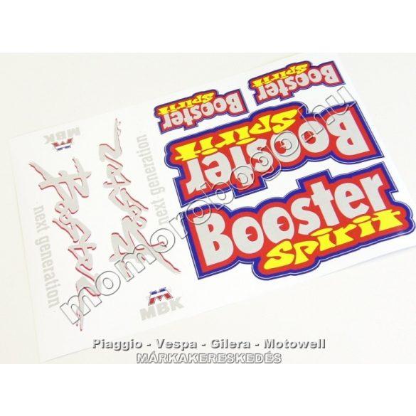 MBK BOOSTER NEXT GENERATION / SPIRIT MATRICA SZETT - (240*330)
