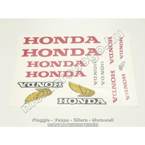 HONDA MATRICA SZETT - A4 (210*297)