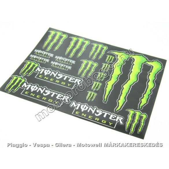 MONSTER ENERGY MATRICA SZETT - NAGY A3 (297*420)