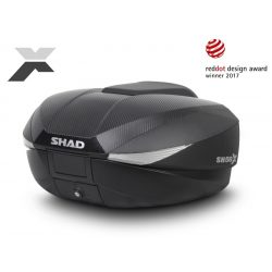 SHAD - SH58X  CSOMAGTARTÓ DOBOZ - FEKETE
