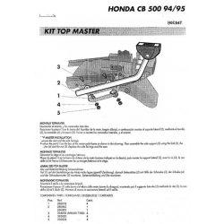 SHAD - CSOMAGTARTÓ HONDA CB 500 1994-05 / HONDA CB 500 S 1994-05
