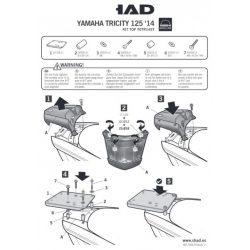SHAD - CSOMAGTARTÓ YAMAHA TRICITY 125 2014-18