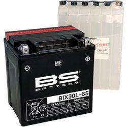 BS - AKKUMULÁTOR YIX30L-BS (12V-30AH) / BIX30L-BS