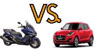 Robogó vs autó
