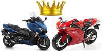 Motorok és robogók királyai