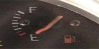 Robogó benzinszintjelző